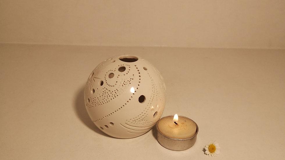 Photophore porcelaine