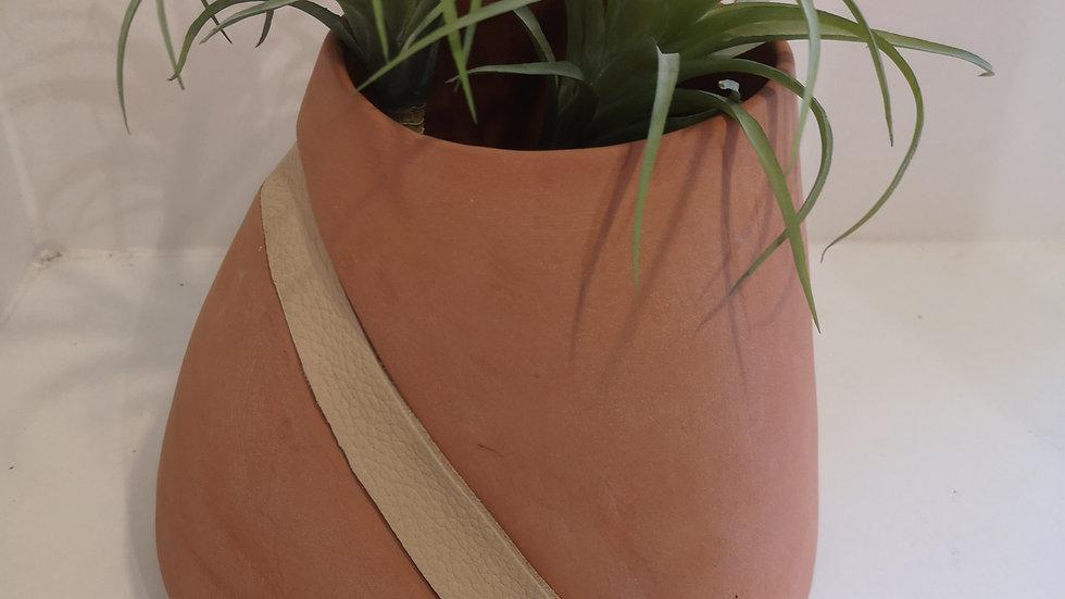 Pot et plante vase de paire N°2