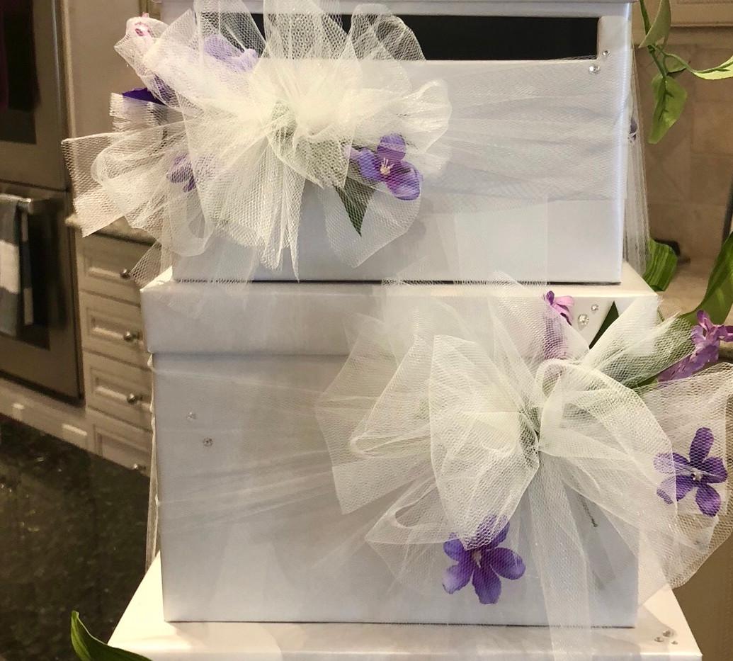 whimsical wedding card box