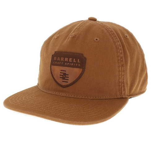 Tan Barrell Craft Spirits 5-Panel Hat