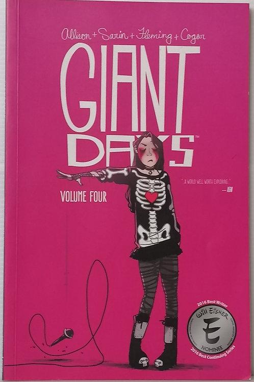 Giant Days Vol 4 by John Allison