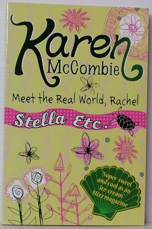 Meet the Real World, Rachel by Karen McCombie
