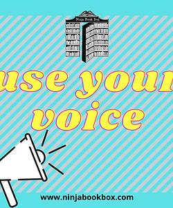 'Use Your Voice' March Mini Box