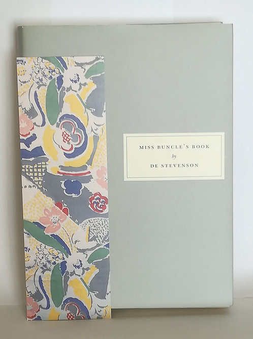 Miss Buncle's Book by DE Stevenson (Persephone Book #81)