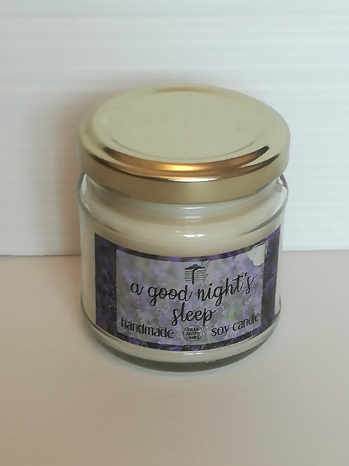 A Good Night's Sleep Lavender Candle