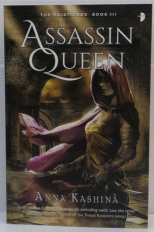 Assassin Queen by Anna Kashina (Majat Code #3)