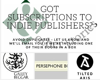 Tell us about your existing subscriptions to independent publishers