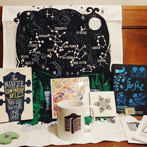 Slighty Surreal November Ninja Book Box
