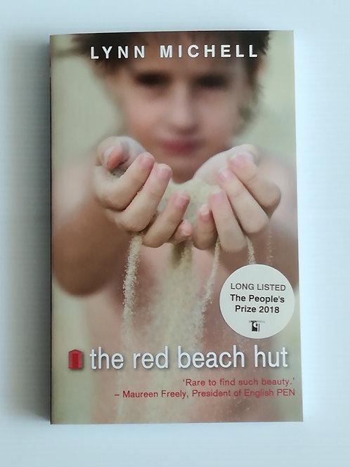 The Red Beach Hut by Lynn Michell