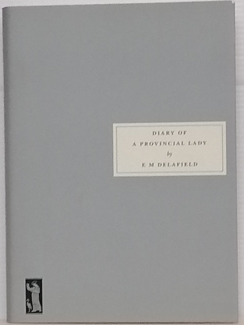 Diary of a Provincial Lady by E.M Delafield