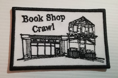 London Bookshop Crawl Sew on Patch