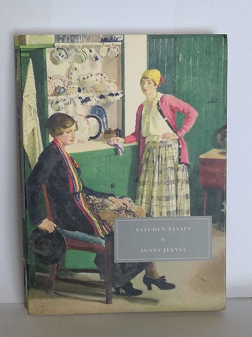 Persephone Classics: Kitchen Essays by Agnes Jekyll