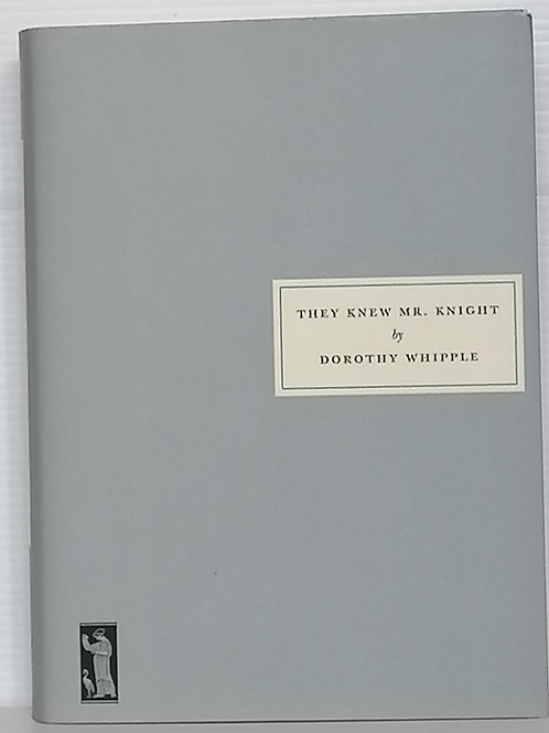 They Knew Mr Knight by Dorothy Whipple