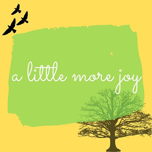 'A Little More Joy' December Ninja Book Box