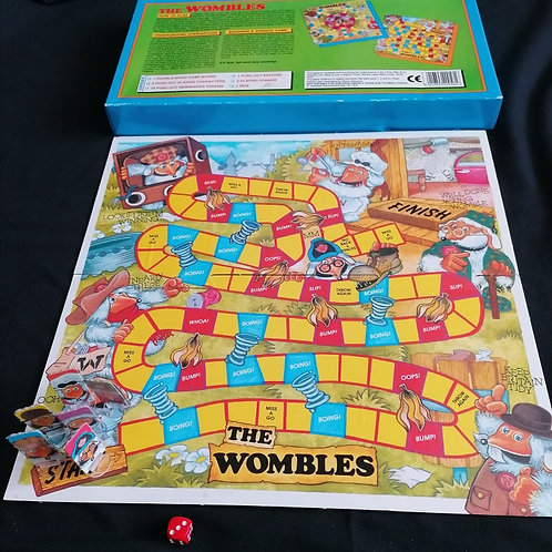 The Wombles 2 in 1 Board Game