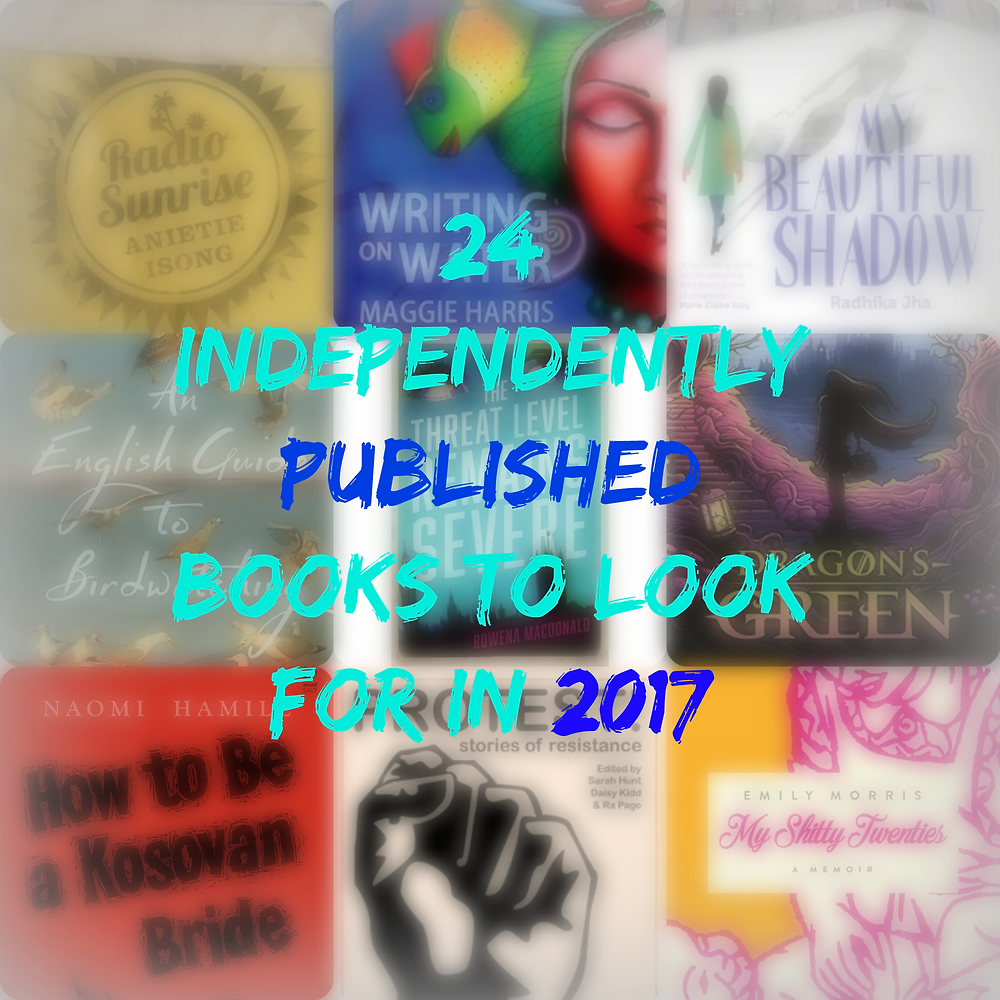 24 independently published books 2017