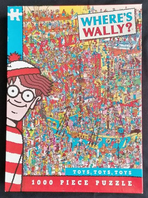 Where's Wally 1000 Piece Jigsaw