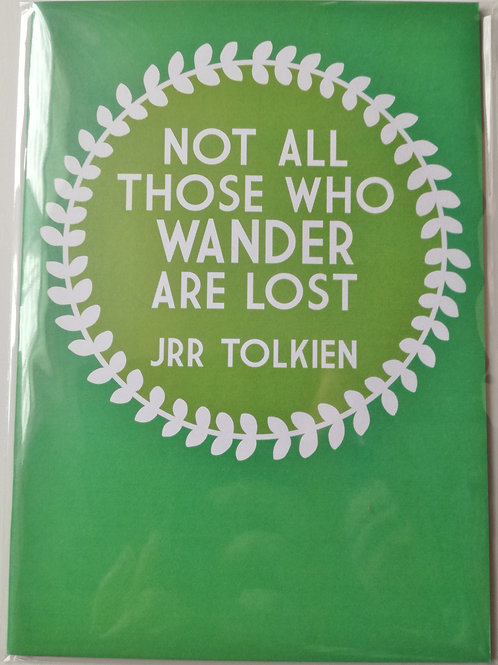 Tolkien Inspired A5 Notebook