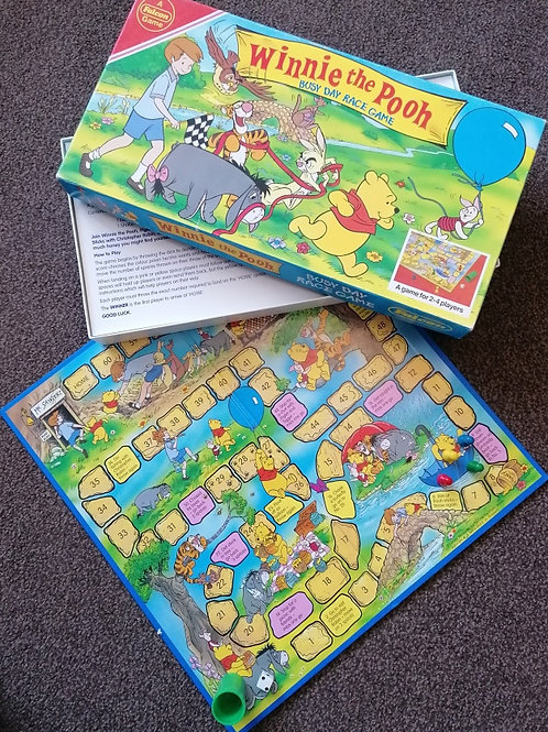 Winnie the Pooh's Busy Day Race Game