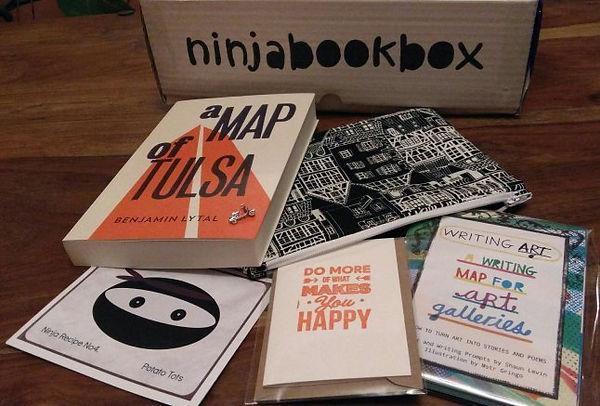 Going Home August Ninja Book Box