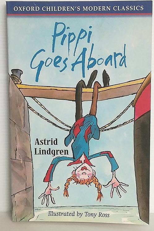 Pippi Goes Aboard by Astrid Lindgren