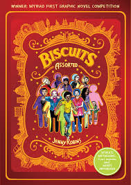 Book Talk: Biscuits (Assorted) by Jenny Robins