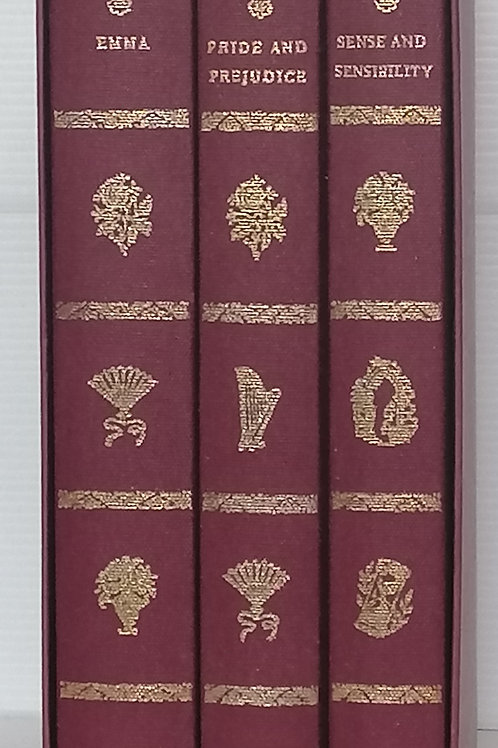 Jane Austen 3 Book Box Set (Folio Society)