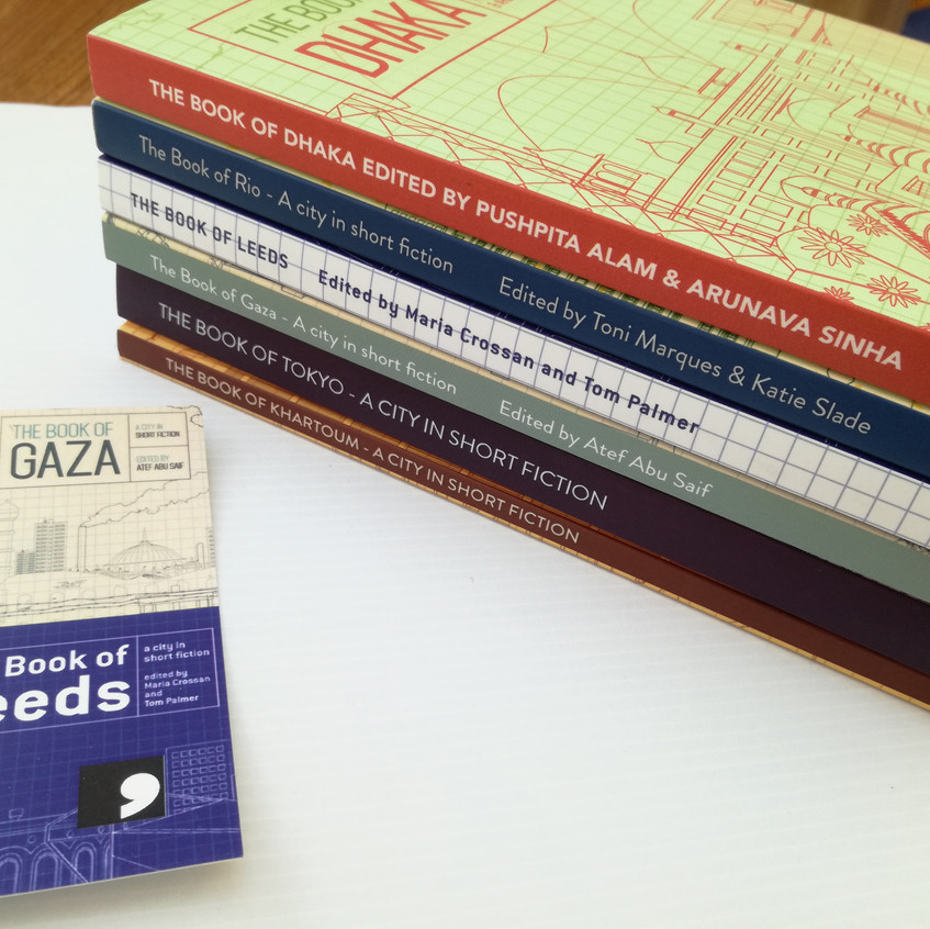 a 6 book bundle from Comma Press
