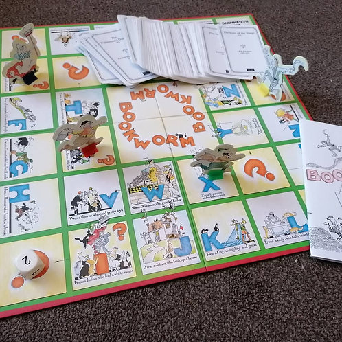 Bookworm the Board Game