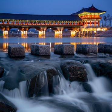 Post Sunset at Woljeonggyo, Gyeongju