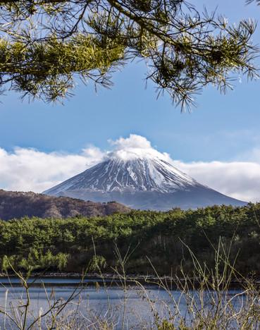 Framed Fuji