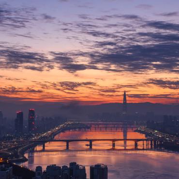 Seoul from Maebongsan