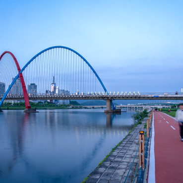 Blue hour in Daejeon