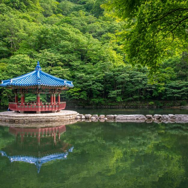 Reflections at Naejangsan