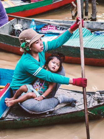 Cambodia, Kampong Phluk