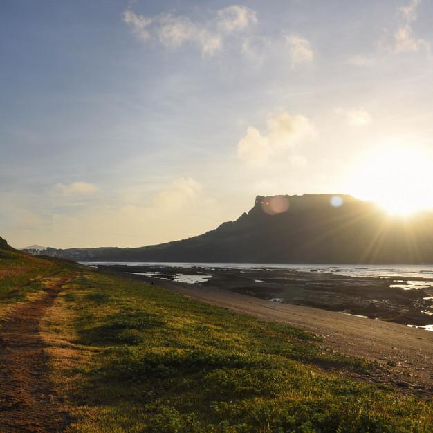 Sunrise at Gwangalli Beach, Jeju