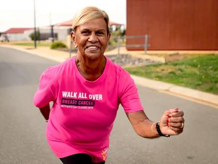 Aunty Pam Pedersen Brings Awareness For Breast Cancer Awareness Month