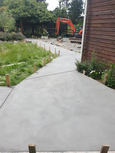 concrete pathway
