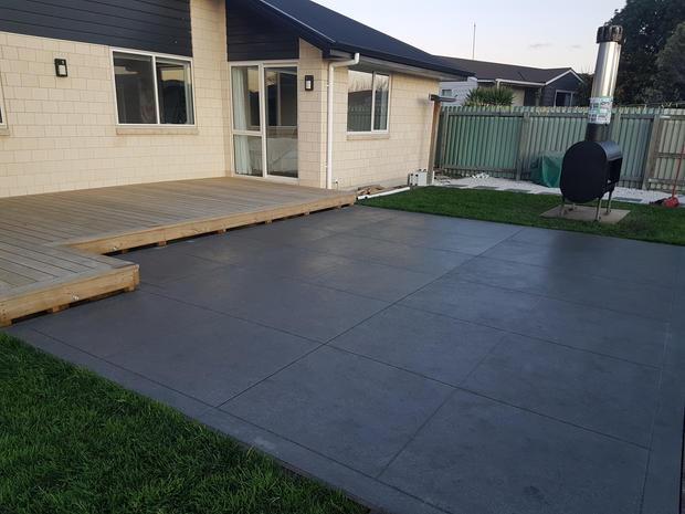 Coloured Cut Concrete