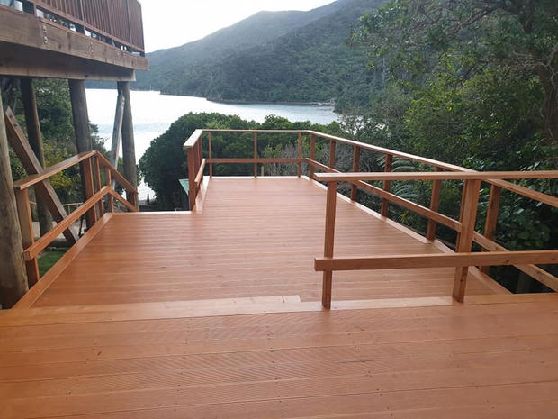 Deck with a View