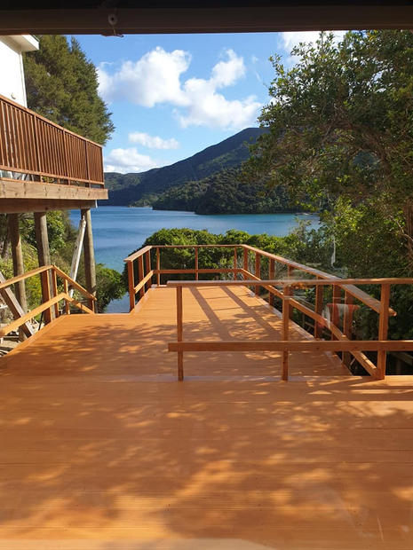 Deck Renovation Queen Charlotte Sounds