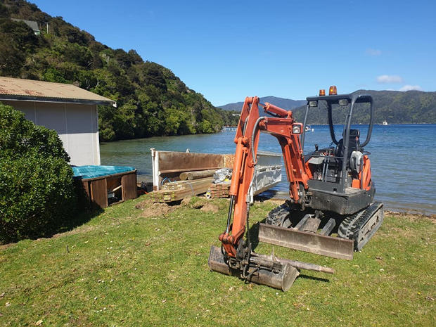Digger Hire Marlborough Sounds