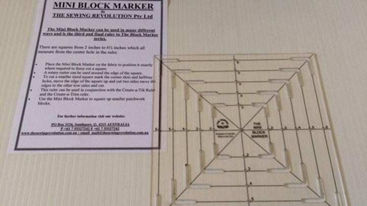 The Mini Block Marker