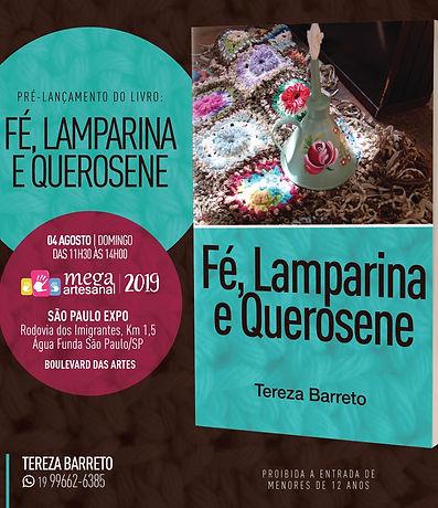 Pré-lançamento livro Tereza Barreto