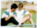 Roger Spry and Jose Mourinho
