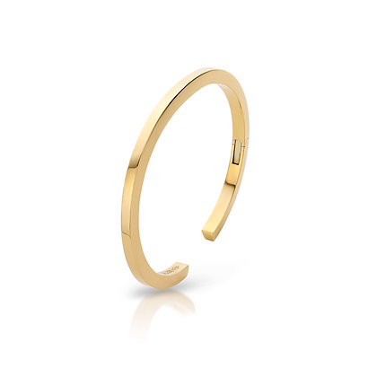 JL Bangle Yellow Gold