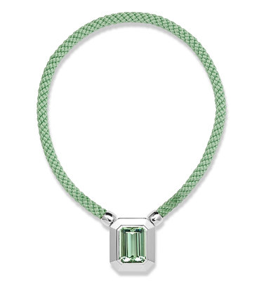 Green Beryl Necklace