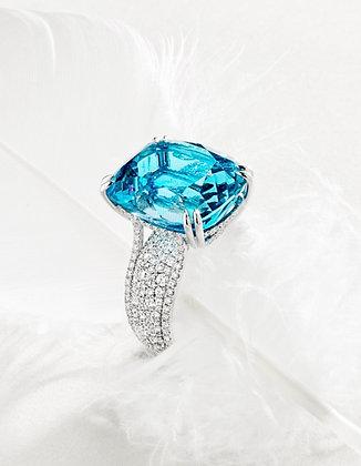 Santa Maria Aquamarine Ring