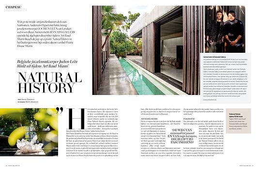 Chapeau Magazine Juwelen Jochen Leen