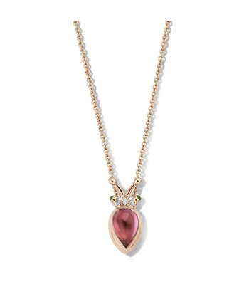 Lily Gold Beetle Pink Tourmaline
